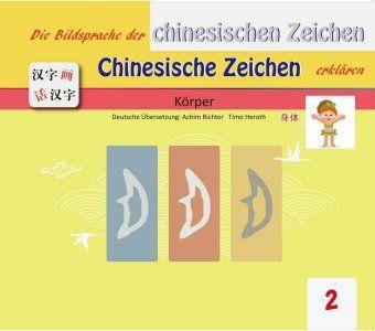 Die Bildersprache der chinesischen Zeichen, Chinesische Zeichen erklären: Körper