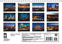 Die Blaue Stunde in Berlin (Wandkalender 2019 DIN A4 quer) - Produktdetailbild 13