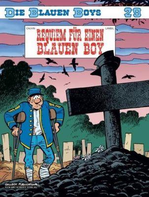 Die blauen Boys - Requiem für einen Blauen Boy, Raoul Cauvin, Willy Lambil