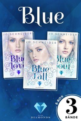 Die Blue-Reihe: Blue: Alle Bände der gefühlvollen Fantasy-Trilogie in einer E-Box! (Die Blue-Reihe ), Jo Schneider