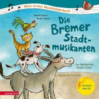 Die Bremer Stadtmusikanten, m. Audio-CD, Marko Simsa