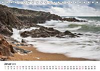 Die Bretagne - Felsige Küstenbereiche (Tischkalender 2019 DIN A5 quer) - Produktdetailbild 1