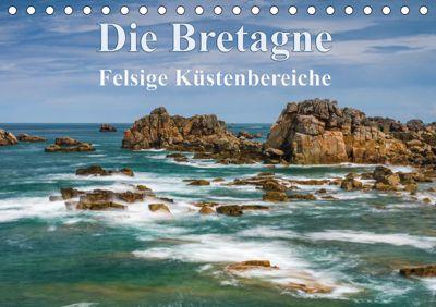 Die Bretagne - Felsige Küstenbereiche (Tischkalender 2019 DIN A5 quer), Klaus Hoffmann