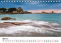Die Bretagne - Felsige Küstenbereiche (Tischkalender 2019 DIN A5 quer) - Produktdetailbild 4