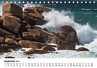 Die Bretagne - Felsige Küstenbereiche (Tischkalender 2019 DIN A5 quer) - Produktdetailbild 9