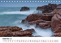 Die Bretagne - Felsige Küstenbereiche (Tischkalender 2019 DIN A5 quer) - Produktdetailbild 12