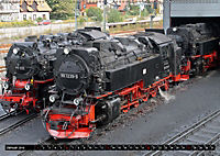 Die Brockenbahn - Mit Volldampf durch den Harz (Wandkalender 2019 DIN A2 quer) - Produktdetailbild 1