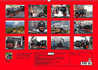Die Brockenbahn - Mit Volldampf durch den Harz (Wandkalender 2019 DIN A2 quer) - Produktdetailbild 13