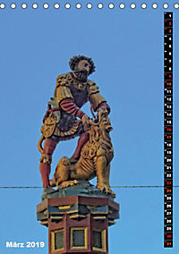 Die Brunnenfiguren von Bern (Tischkalender 2019 DIN A5 hoch) - Produktdetailbild 3