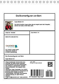 Die Brunnenfiguren von Bern (Tischkalender 2019 DIN A5 hoch) - Produktdetailbild 13