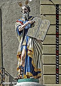 Die Brunnenfiguren von Bern (Wandkalender 2019 DIN A2 hoch) - Produktdetailbild 1
