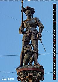 Die Brunnenfiguren von Bern (Wandkalender 2019 DIN A2 hoch) - Produktdetailbild 6
