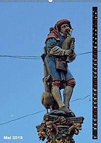 Die Brunnenfiguren von Bern (Wandkalender 2019 DIN A2 hoch) - Produktdetailbild 5