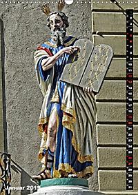 Die Brunnenfiguren von Bern (Wandkalender 2019 DIN A3 hoch) - Produktdetailbild 1