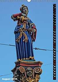 Die Brunnenfiguren von Bern (Wandkalender 2019 DIN A3 hoch) - Produktdetailbild 8