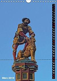 Die Brunnenfiguren von Bern (Wandkalender 2019 DIN A4 hoch) - Produktdetailbild 3
