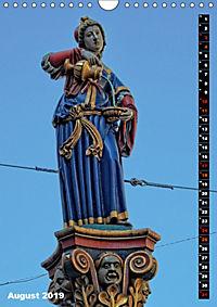 Die Brunnenfiguren von Bern (Wandkalender 2019 DIN A4 hoch) - Produktdetailbild 8