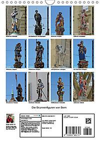 Die Brunnenfiguren von Bern (Wandkalender 2019 DIN A4 hoch) - Produktdetailbild 13