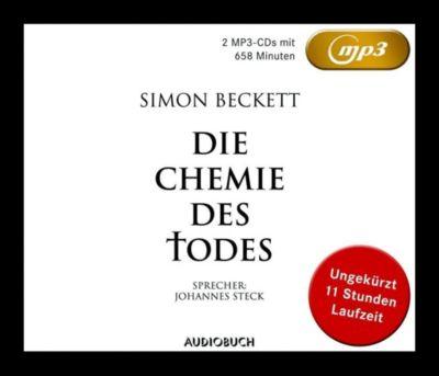 Die Chemie des Todes, 2 MP3-CDs - Simon Beckett |