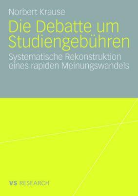 Die Debatte um Studiengebühren, Norbert Krause