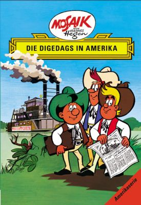 Die Digedags in Amerika - Lothar Dräger  