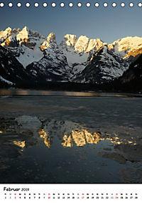 Die Dolomiten um Südtirol (Tischkalender 2019 DIN A5 hoch) - Produktdetailbild 2