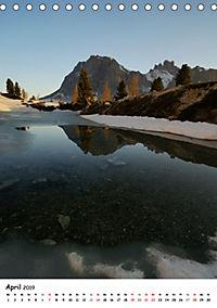 Die Dolomiten um Südtirol (Tischkalender 2019 DIN A5 hoch) - Produktdetailbild 4