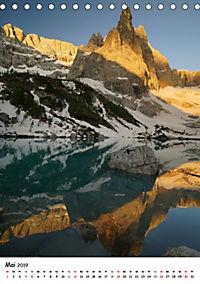 Die Dolomiten um Südtirol (Tischkalender 2019 DIN A5 hoch) - Produktdetailbild 5