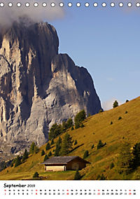 Die Dolomiten um Südtirol (Tischkalender 2019 DIN A5 hoch) - Produktdetailbild 9