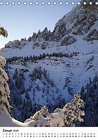 Die Dolomiten um Südtirol (Tischkalender 2019 DIN A5 hoch) - Produktdetailbild 1