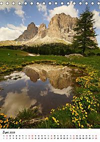 Die Dolomiten um Südtirol (Tischkalender 2019 DIN A5 hoch) - Produktdetailbild 6