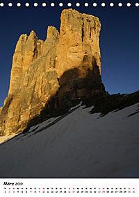 Die Dolomiten um Südtirol (Tischkalender 2019 DIN A5 hoch) - Produktdetailbild 3