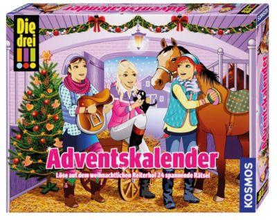Die drei !!! Adventskalender - Löse auf dem weihnachtlichen Reiterhof 24