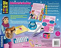 Die drei !!! Adventskalender - Löse auf dem weihnachtlichen Reiterhof 24 - Produktdetailbild 1