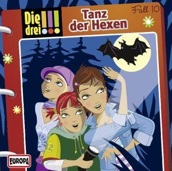 Die drei Ausrufezeichen Band 10: Tanz der Hexen (Audio-CD), Die drei !!!