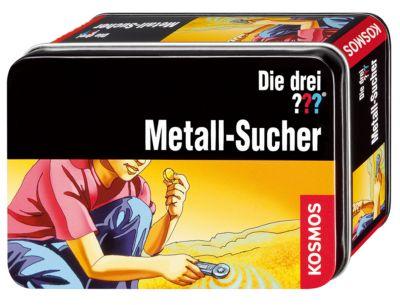 Die drei ??? - Box Metall-Sucher