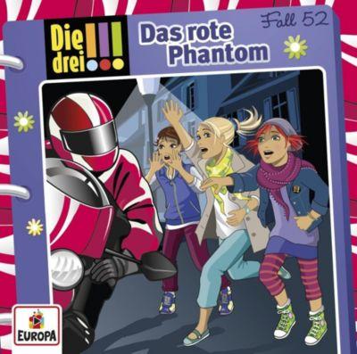 Die drei !!! - Das rote Phantom (Fall 52), Ina Biber, Maja Von Vogel