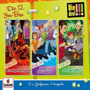 Die drei !!! - Die 12. 3er-Box (Folgen 34-36), Die drei !!!