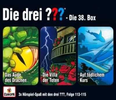 Die drei ??? - Die 38. Box (Folgen 113-115) (3 CDs), Die drei ???
