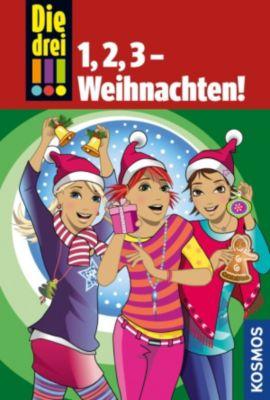 Die drei !!!: Die drei !!!, 1,2,3 - Weihnachten! (drei Ausrufezeichen), Maja von Vogel, Henriette Wich