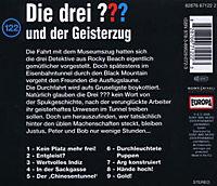 Die drei Fragezeichen Band 122: Die drei Fragezeichen und der Geisterzug (1 Audio-CD) - Produktdetailbild 1