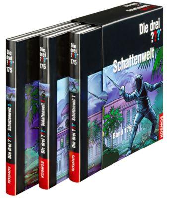 Die drei Fragezeichen Band 175: Schattenwelt, Kari Erlhoff, Hendrik Buchna, Christoph Dittert