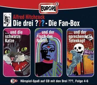 Die drei Fragezeichen Band 4-6: 3er Box (3 Audio-CDs), Alfred Hitchcock
