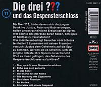 Die drei Fragezeichen - Hörbuch Band 11: Die drei Fragezeichen und das Gespensterschloss (1 Audio-CD) - Produktdetailbild 1