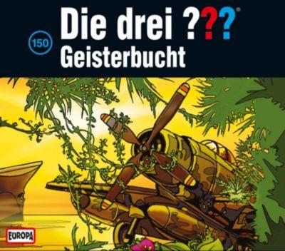 Die drei Fragezeichen - Hörbuch Band 150: Geisterbucht (3 Audio-CDs), Die Drei ???