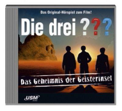Die drei Fragezeichen - Hörbuch Band 18: Die drei Fragezeichen und die Geisterinsel (1 Audio-CD), Ulf Blanck