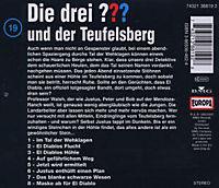 Die drei Fragezeichen - Hörbuch Band 19: Die drei Fragezeichen und der Teufelsberg (1 Audio-CD) - Produktdetailbild 1