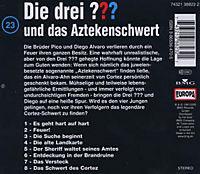 Die drei Fragezeichen - Hörbuch Band 23: Die drei Fragezeichen und das Aztekenschwert (1 Audio-CD) - Produktdetailbild 1