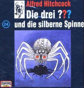 Die drei Fragezeichen - Hörbuch Band 24: Die drei Fragezeichen und die silberne Spinne (1 Audio-CD), Die Drei ??? 24