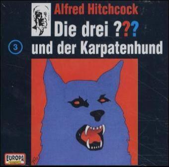 Die drei Fragezeichen - Hörbuch Band 3: Die drei Fragezeichen und der Karpatenhund (1 Audio-CD), Die Drei ??? 3